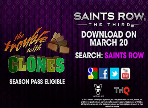 Saints Row: The Third. Трейлер.