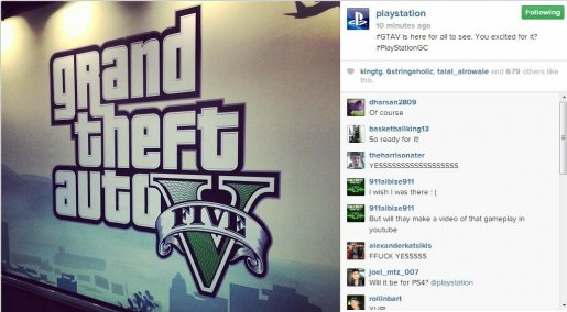 Grand Theft Auto 5 �������� �� �������� gamescom 2013.