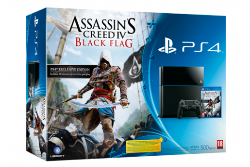 Ubisoft ����������� ����� �������� ��� PS4 � Assassins Creed 4: Black Flag.